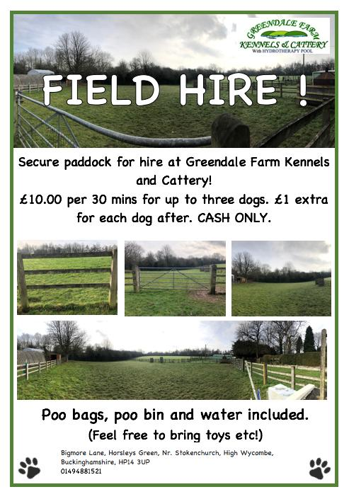 Greendale Farm Field Hire